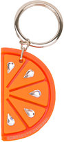 Charlotte Olympia orange keyring - women - Plexiglass/Methyl Methacrylate/glass - One Size