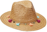 Scala Women's LT197 Toyo Safari Hat with Tassel