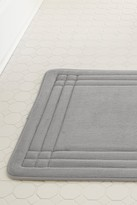 Amrapur GeoPlex Memory Foam Bath Mat - Silver