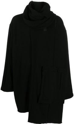 Yohji Yamamoto Wrap-Style Cardigan