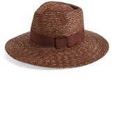 Brixton Women's 'Joanna' Straw Hat - Brown