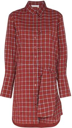 Chloé checked shirt dress