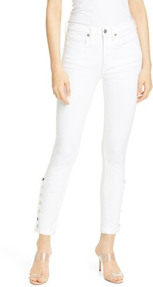 Veronica Beard Kate High Waist Skinny Jeans