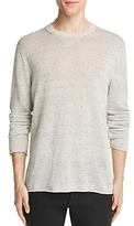 Vince Heathered Linen Sweater