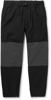 Nike Acg Nrg Trail Tapered Panelled Ripstop Trousers - Black