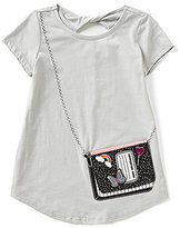 Jessica Simpson Big Girls 7-16 Katelyn Notebook Purse Tee