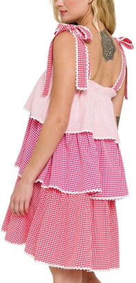 ENGLISH FACTORY Mini Dress