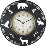 Asstd National Brand FirsTime Lodge Collection Wall Clock