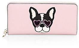 Kate Spade Women's Sylvia Francois Embellished Leather Wallet