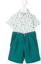 Cashmirino Shirt and bermuda short set