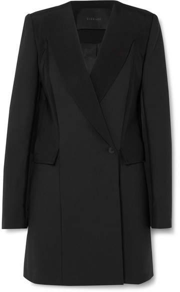 Dion Lee Crepe Mini Dress - Black