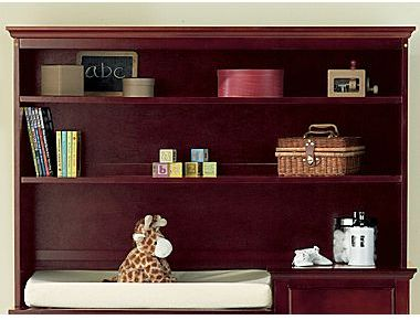 JCPenney Savanna Tori Nursery Hutch - Cherry