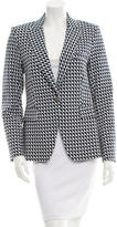 Veronica Beard Structured Geometric Pattern Blazer