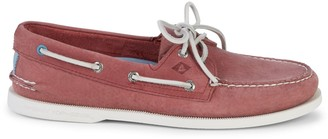 Sperry A/O Eye Suede Boat Shoes