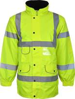 Kentex Online Men's High Visibility Long Padded Winter Warm Jackets