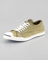 Converse Jack Purcell Low-Profile Sneaker, Olive