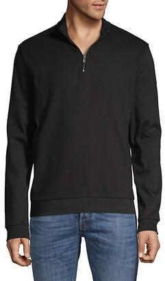 HUGO BOSS Sidney Zip-Neck Pullover
