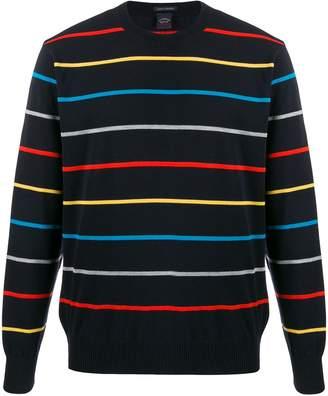 Paul & Shark striped print jumper