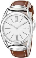 Gucci Women's YA140402 Horsebit Swiss Quartz Watch