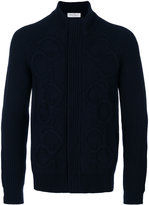 Salvatore Ferragamo cable-knit cardigan - men - Cashmere/Wool - M