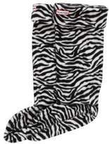 Hunter Fleece Printed Sock