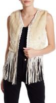 Raga The Nomad Faux Fur & Faux Leather Vest