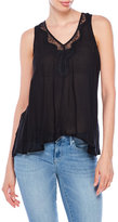 Jessica Simpson Serene Lace-Trim Top