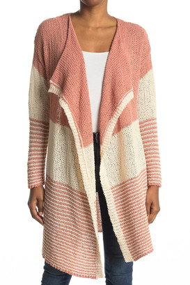 Stitchdrop Striped Knit Cardigan