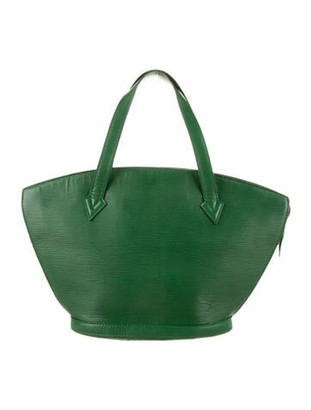 Louis Vuitton Vintage Epi St. Jacques PM Green