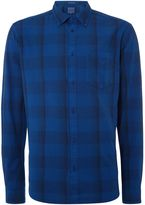 Wrangler Men's Large gingham check long sleeve shirt