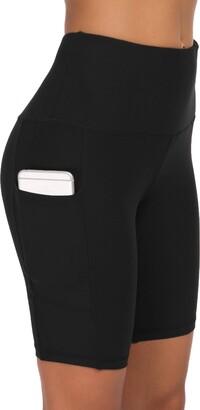 Equipment Custer's Night Premium Thick High Waist Tummy Compression Slimming Leggings Black Snow Dot S