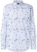 Orian floral long-sleeve shirt
