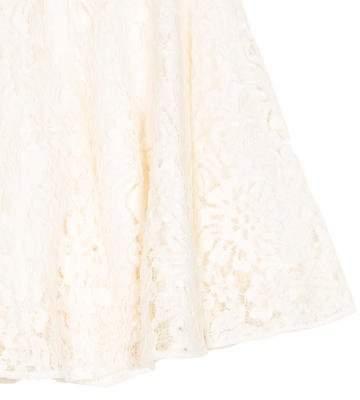 Dolce & Gabbana Girls' Lace Mini Skirt