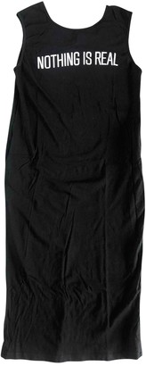 Circus Hotel Black Cotton Dress for Women