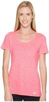 Nike Dry Legend Cross-Dye Tee Women's Short Sleeve Pullover