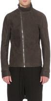 Rick Owens Asymmetric-zip leather jacket