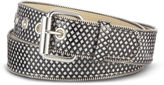JCPenney RELIC Relic Glitter Zipper-Edge Belt