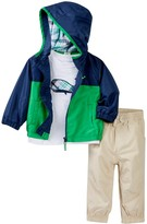 Little Me Whale 3-Piece Jacket Set (Baby Boys)