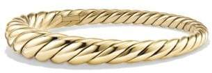 David Yurman Pure Form® Cable Bracelet In 18K Gold, 9.5Mm