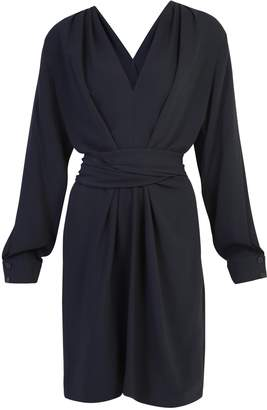 Stella McCartney Draped Front-Twist Detail Dress