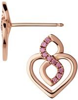 Links of London Infinite Love Pavé Stud Earrings