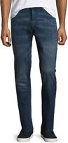 Cheap Monday Dropped Straight-Leg Denim Jeans, Blue