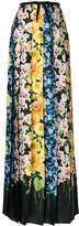 Gucci Florage printed skirt