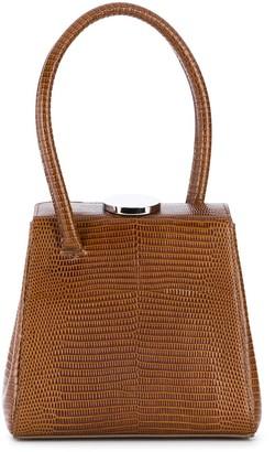 Little Liffner Mademoiselle embossed top handle bag