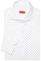 Isaia Dotted Seersucker Dress Shirt