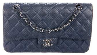 Chanel Perforated Classic Medium Double Flap Bag
