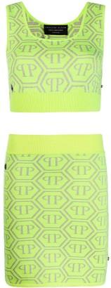 Philipp Plein Logo Print Co-Ord Set