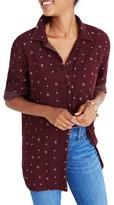 Madewell Women's Double Face Classic Ex-Boyfriend Shirt
