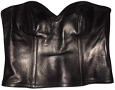 Saint Laurent Leather Bustier