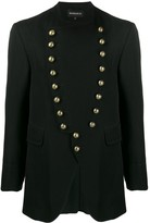 Ann Demeulemeester military style fitted jacket